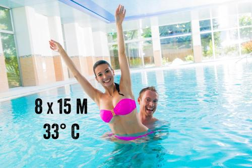 The swimming pool at or near Badehotel Salina Maris – Wellness & Vintage