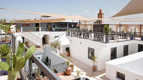 A balcony or terrace at Rodamon Riad Marrakech