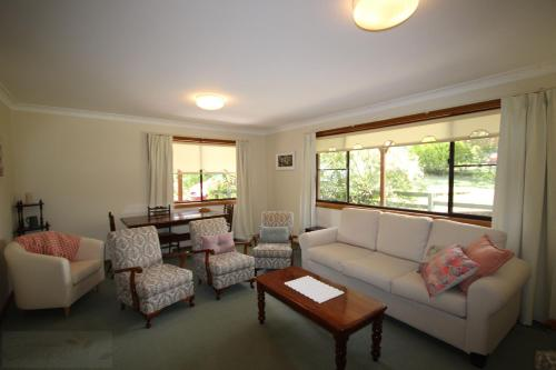 A seating area at Telopea