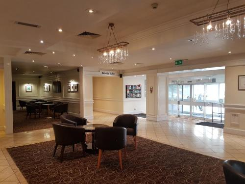 The lobby or reception area at The Bradford Hotel