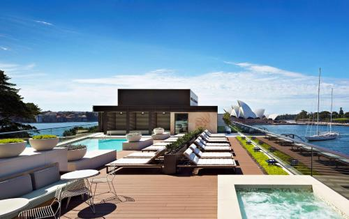 The swimming pool at or close to Park Hyatt Sydney
