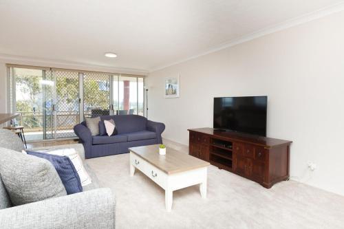 A seating area at Sandbar 401, 1-3 Head Street, Forster