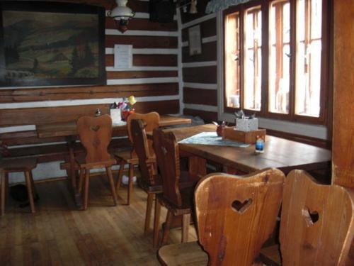 Restaurace v ubytování Boudy V Modrem Dole