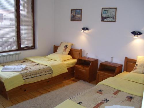 Кровать или кровати в номере Rahoff hotel