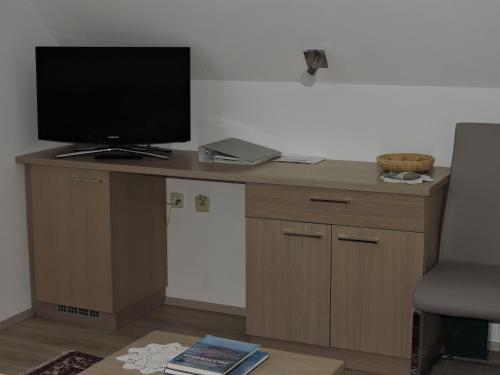 TV/Unterhaltungsangebot in der Unterkunft Gästehaus Haagen