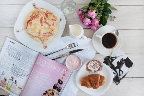 Breakfast options available to guests at Ahotels Design Style on Tolstogo