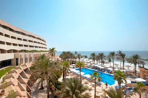 A view of the pool at Occidental Sharjah Grand or nearby