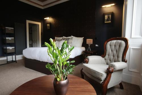 A seating area at The Belhaven Hotel
