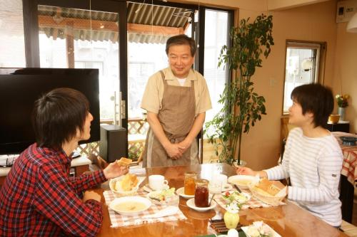 A restaurant or other place to eat at Sapporo Inn Nada