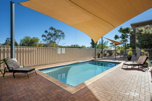 The swimming pool at or near Quest Alice Springs
