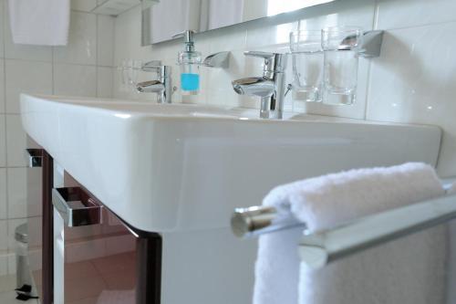 Ein Badezimmer in der Unterkunft Zur Alten Schmiede