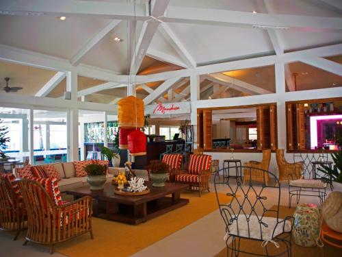 Um restaurante ou outro lugar para comer em Costa Verde Tabatinga Hotel