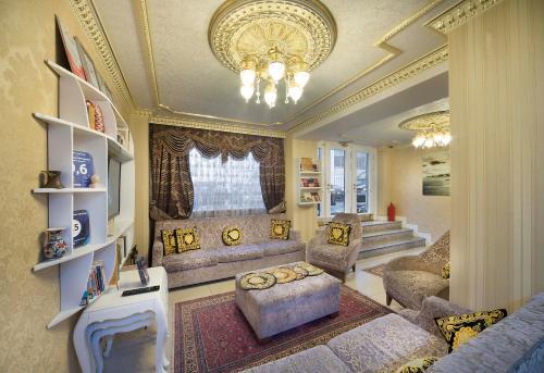 Гостиная зона в World Heritage Hotel Istanbul