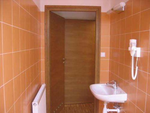 Łazienka w obiekcie Hostel Nuove Frontiere