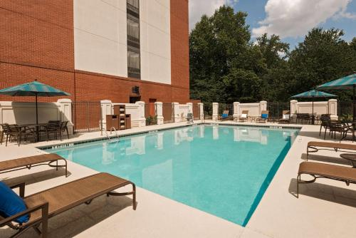 The swimming pool at or near Hyatt Place Atlanta Duluth Johns Creek