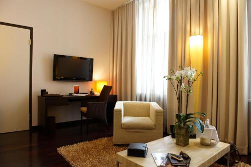 TV/Unterhaltungsangebot in der Unterkunft MyPlace - Premium Apartments City Centre