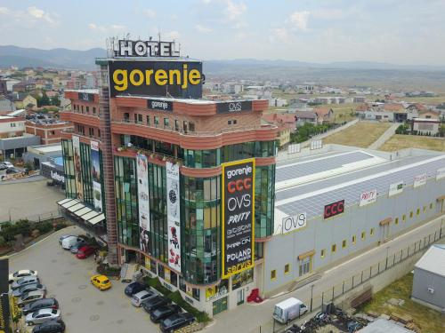 A bird's-eye view of Hotel Gorenje