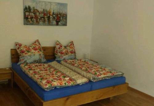 Ein Bett oder Betten in einem Zimmer der Unterkunft Evelyn Klaeger