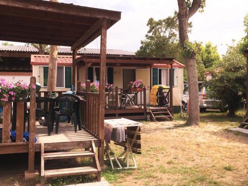 Restaurace v ubytování Adria Holiday Villaggio San Francesco