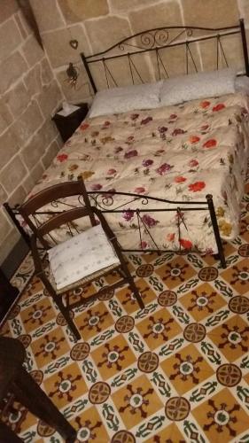 Letto o letti in una camera di L'antica Corte