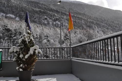 Apartaments Inter Esquí en invierno