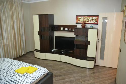 Телевизор и/или развлекательный центр в Borkenhof Inn