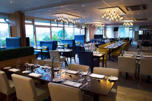 A restaurant or other place to eat at Ufford Park Hotel, Golf & Spa