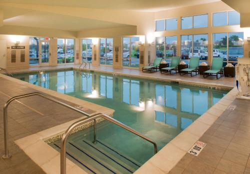 The swimming pool at or near Residence Inn by Marriott Springfield South