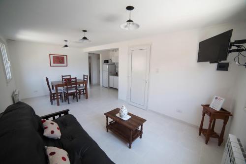 Un lugar para sentarse en Aparthotel Aldea Termal