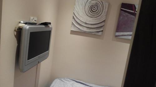 A television and/or entertainment center at Apartament Zacisze