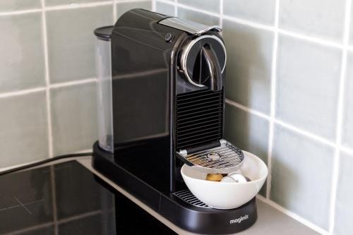 Kaffee-/Teezubehör in der Unterkunft Villa Parnassia