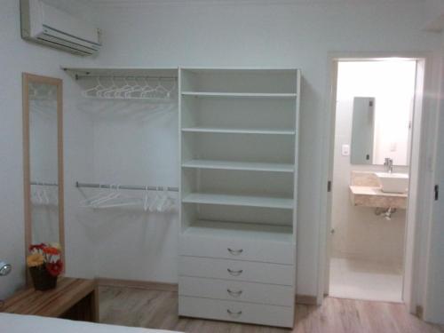 A bathroom at Apartamento Cristóvão