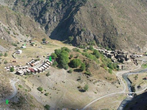 A bird's-eye view of Shatili Guesthouse-Mziani