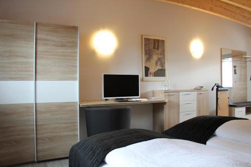 TV/Unterhaltungsangebot in der Unterkunft Hotel-Restaurant-Haus Berger