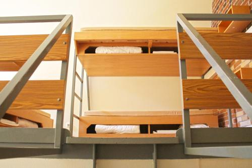 A bunk bed or bunk beds in a room at Jugendgästehaus St.-Michaels-Heim