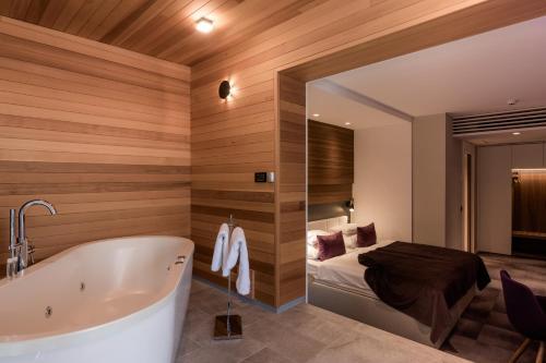 A bathroom at Hotel Nox
