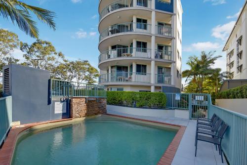 Der Swimmingpool an oder in der Nähe von Excellsior Apartments