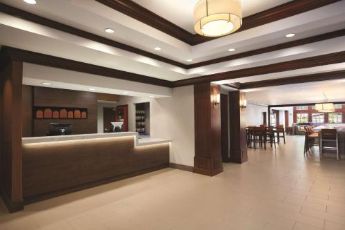 The lobby or reception area at Hyatt House Pleasant Hill