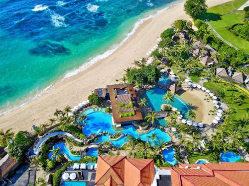 A bird's-eye view of Hilton Bali Resort