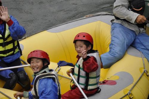 Children staying at Lodge Karunaju & The Alpine Grill