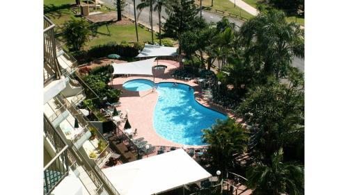 A view of the pool at The Rocks Resort Unit GI or nearby