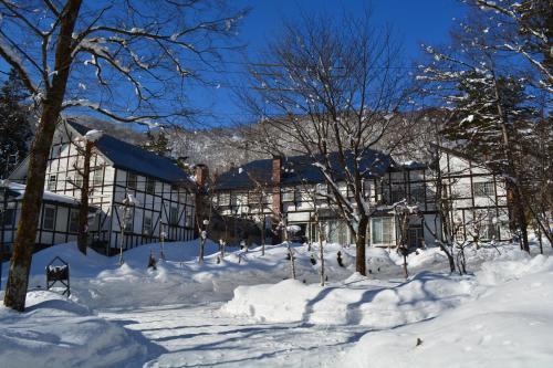 冬のホテル セジュールミントの様子