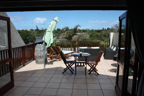A balcony or terrace at Cloverleigh Guest House