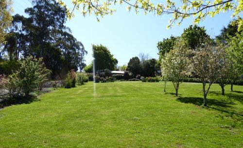 A garden outside Tamar River Retreat