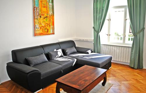 Predel za sedenje v nastanitvi Villa Winter Prestige Apartments