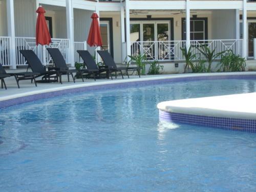 The swimming pool at or near Lantana Resort Barbados by Island Villas