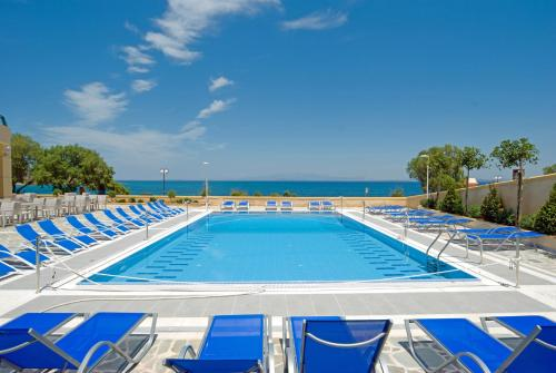 The swimming pool at or near Aegean Dream Hotel