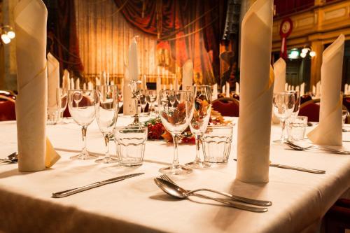 En restaurang eller annat matställe på Best Western Hotel Gamla Teatern