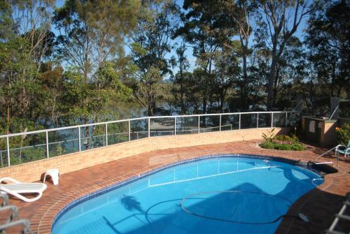 The swimming pool at or near Motel Miramar