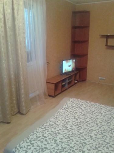 Телевизор и/или развлекательный центр в Апартаменты на Лескова 5